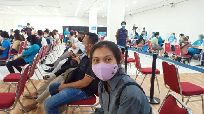 Vaksinasi massal sasaran pedagang pasar, lansia dan pegawai retail di Mal BTM, Jalan Ir H. Juanda, Kota Bogor memasuki hari terakhir, Jumat (26/3/2021).
