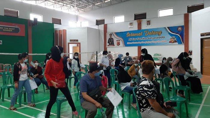 Tak Harus Domisili, Warga dari Luar Bogor Juga Bisa Ikut Vaksinasi di Polres Bogor, Ini Syaratnya