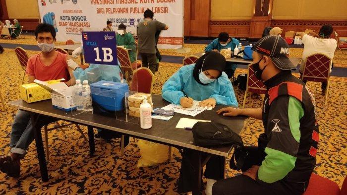 Dinkes Kota Bogor Selesaikan Vaksinasi untuk Target Sasaran Pengemudi Ojek Online