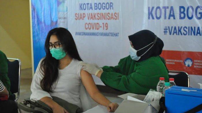 Ribuan Pedagang Pasar di Kota Bogor Jalani Vaksinasi Covid-19
