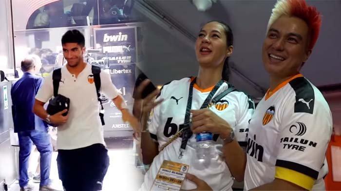 Jadi Tamu VVIP La Liga, Baim Wong Ingin Anaknya Tampan Seperti Pemain Bola, Paula : Bapaknya Siapa ?