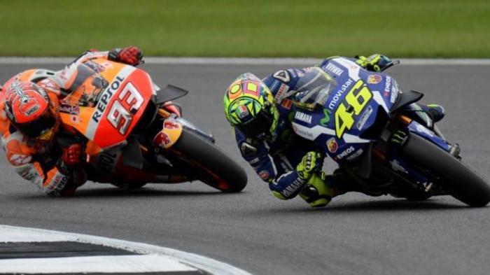 Marquez Finish Pertama di GP Aragon, Rossi Ketiga