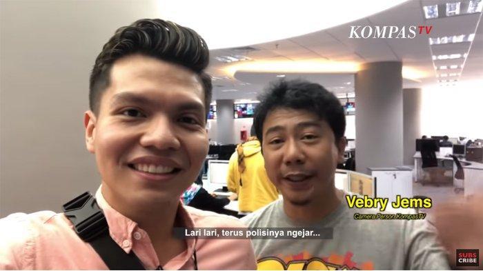 Viral Cerita Kameramen Kompas TV, Ungkap Penyebab Celananya Hampir Melorot saat Liput Aksi 22 Mei