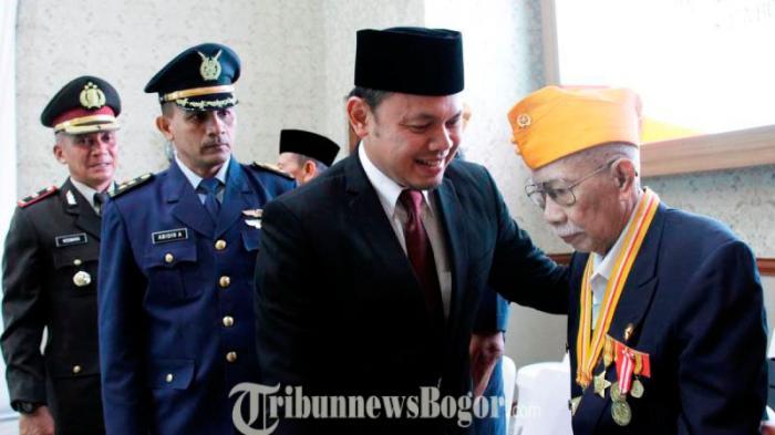 Jelang HUT RI, Veteran Perang Berkumpul di Balaikota Bogor