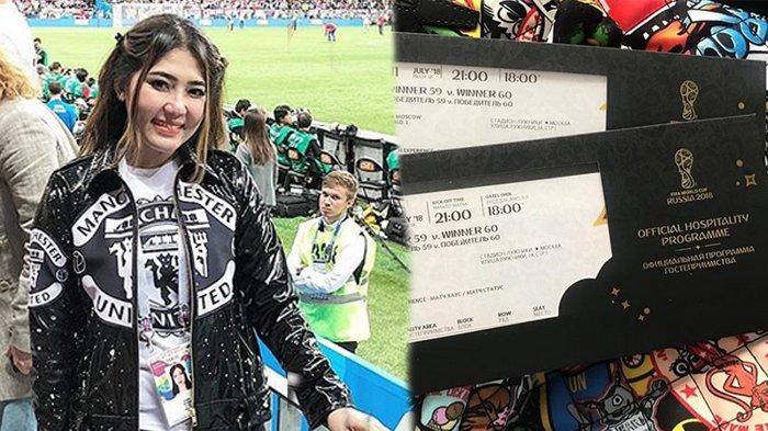 Via Vallen Tonton Semifinal Piala Dunia Dengan Tiket VIP, Harganya Fantastis Dapat Fasilitas Mewah