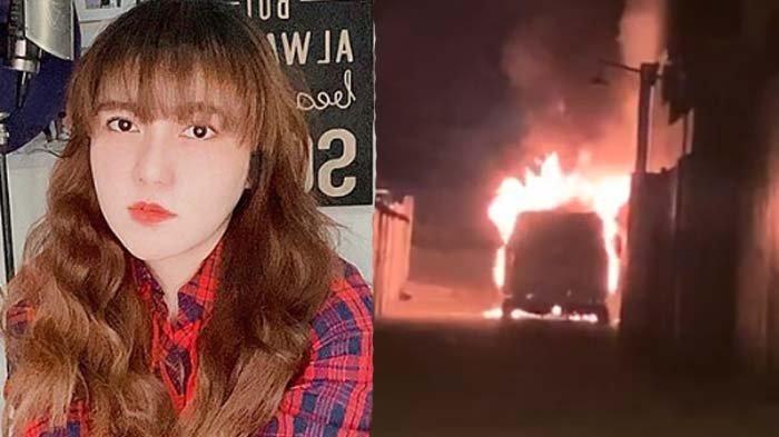 Via Vallen Istighfar Teriak Minta Tolong Mobilnya Terbakar, Geram Lihat CCTV: Itu Siapa yang Bakar?