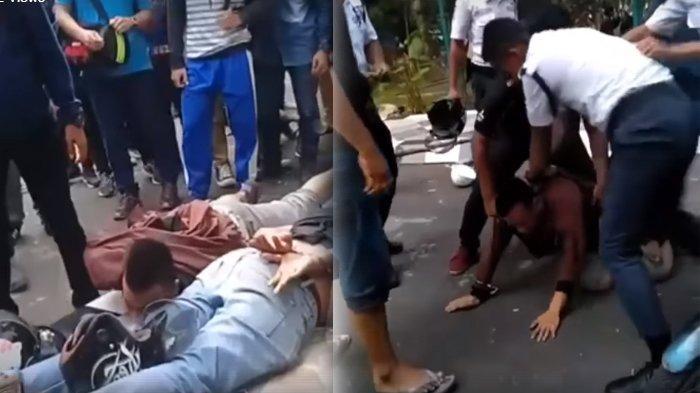 Viral Video 2 Pria Dikeroyok Usai Dituduh Maling Karena Tak Bisa Tunjukkan STNK, Ini Kata Polisi