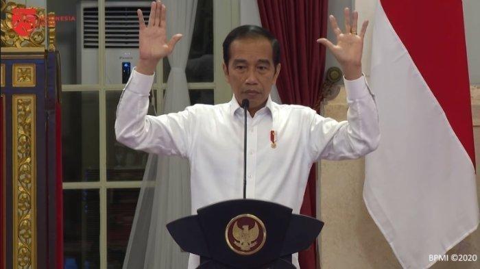 Jokowi Tertawa saat Ditanya Isu Reshuffle, Ketua MPR: Silakan Tafsirkan Sendiri