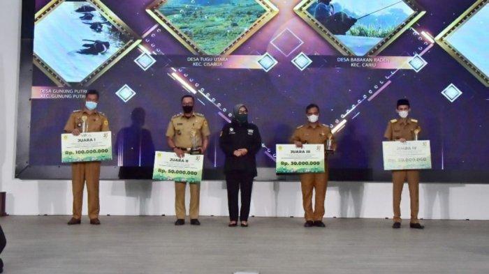 Desa Gunungputri Bogor Sabet Juara Lomba Profil Desa 2021