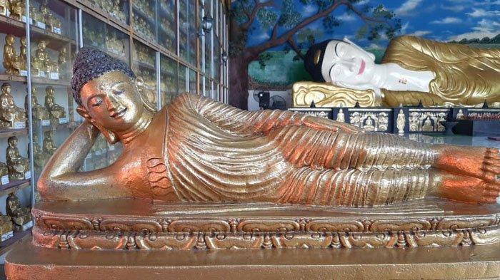 Ada Patung Buddha Tidur di Vihara Buddha Dharma Tajurhalang Bogor, Ini Makna yang Terkandung