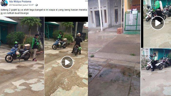 Viral 13 Driver Ojol Dapat Order Fiktif atas Nama Sinta & Kayla ke Rumah Kosong, Polisi Turun Tangan