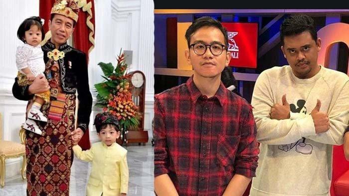 Viral Foto Jadul Jokowi Gandeng 2 Bocah, Disebut Pertama di Dunia, Presiden Momong 2 Anak Walikota