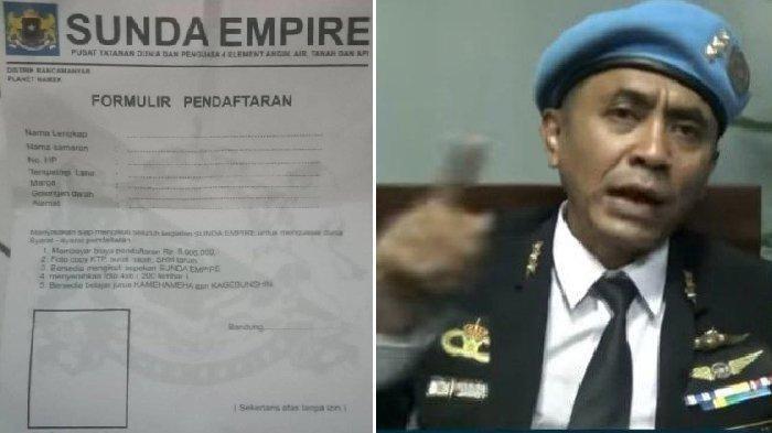 Viral Formulir Pendaftaran Sunda Empire, Siapkan Foto 200 Lembar Hingga Belajar Jurus Kamehameha