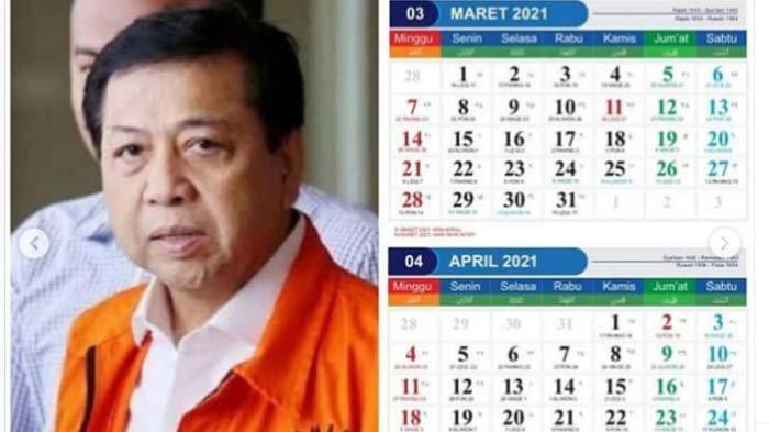 Viral Kalender 2021 Dihiasi Wajah Koruptor, Rocky Gerung: Supaya Ingat Tanggal Berapa Dia Berkhianat