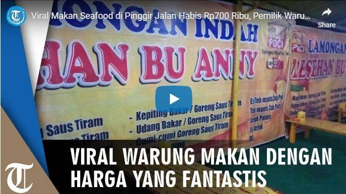 Makan di Warung Ini Harganya Selangit, Pemilik Warung Bu Anny Buat Surat Tertulis Akui 3 Kesalahan