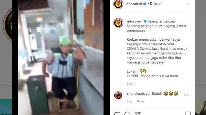 Viral Pelecehan Petugas Toilet kepada Wanita, Pria yang Dituduh Berkilah: Nyentuh Anak Kok Gak Boleh