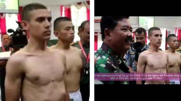 Viral Pria Sunda-Prancis Diwawancara Panglima TNI, Pernah Pesantren di Serang Kini Lolos Akmil TNI
