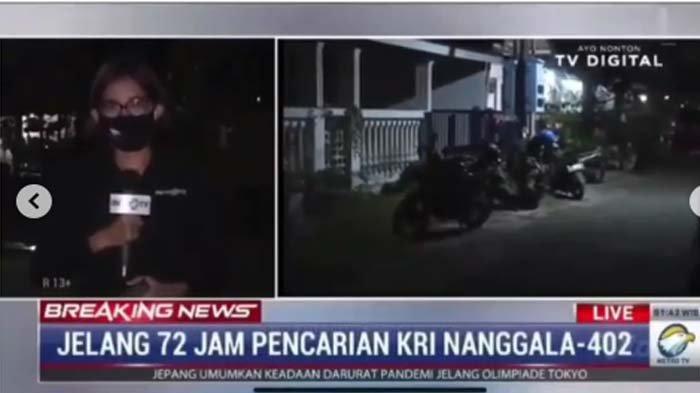 VIRAL Reporter TV Nangis Ungkap Pilu Istri Kolonel Hary, Korban KRI Nanggala 402: Tabah Sampai Akhir