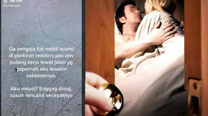viral suami ngamar di hotel bareng wanita lain, istri sah tak langsung melabrak malah telpon mertua