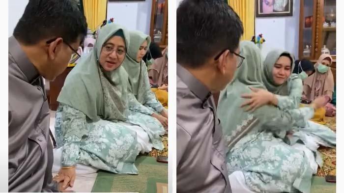 VIDEO Istri Nangis Rela Dimadu & Izinkan Suami Nikah Lagi, Sosok Sang Suami Punya Jabatan Mentereng