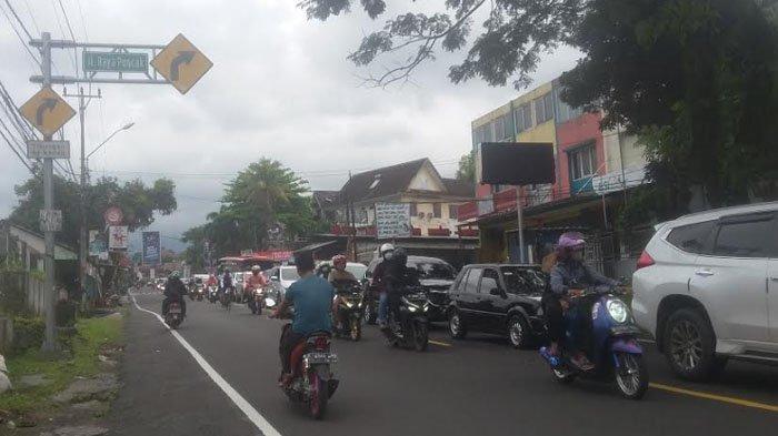 Info Jalur Puncak Hari Ini, Kendaraan dari Arah Cianjur menuju Jakarta Mengalami Antrean Panjang