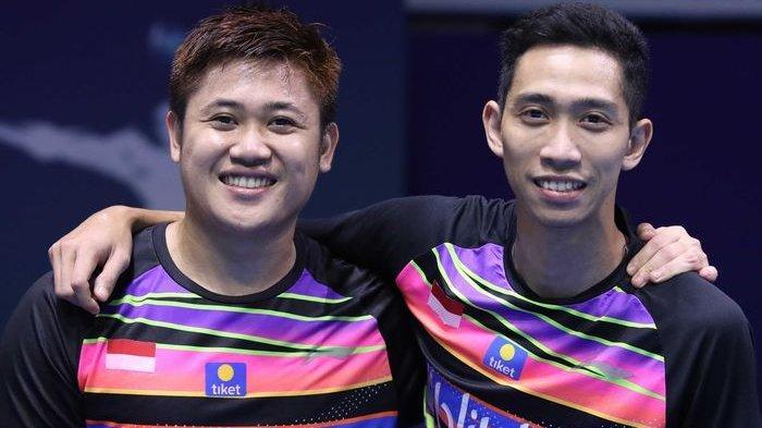 Tekuk Malaysia, Tim Bulutangkis Putra Indonesia Tambah Emas SEA Games 2019, Wahyu/Ade Penentu