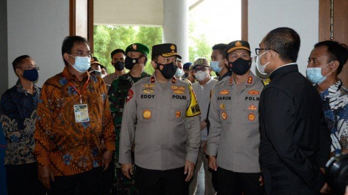 Wakapolda Jabar Bersama Danrem 061/SK Tinjau Perayaan Paskah di Cibinong Bogor