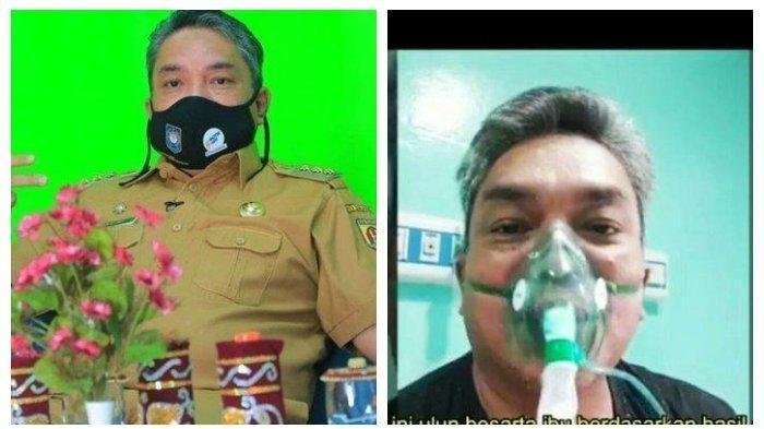 Sempat Aktif di Medsos sehari Sebelum Meninggal karena Covid-19, Wali Kota Banjarbaru Tiba-tiba Drop