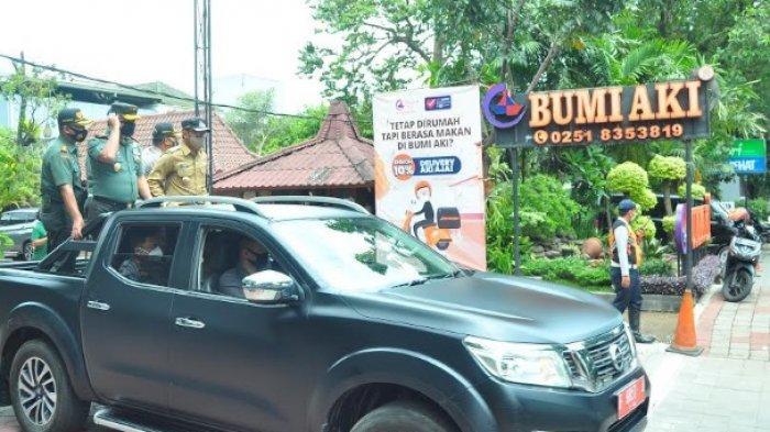 Hari Pertama Pembatasan Kegiatan Masyarakat, Bima Arya Bawa Raisa Keliling Bogor