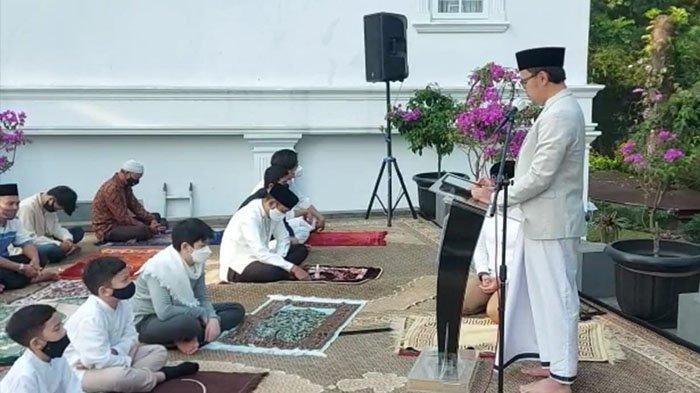 Salat Idul Fitri Berjamaah Bersama Keluarga, Bima Arya Sampaikan Pesan Ini