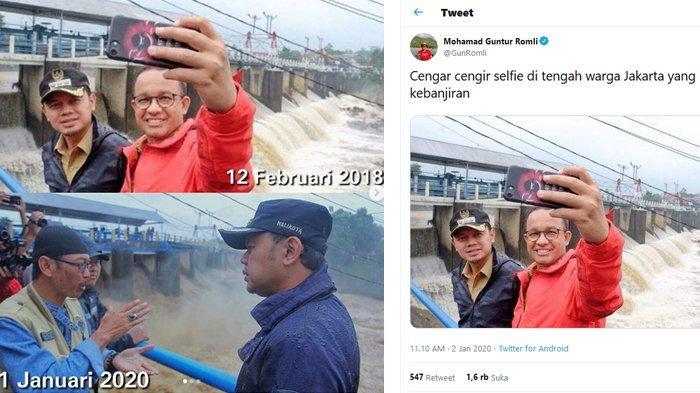 Curhat Bima Arya Foto Selfienya Bareng Anies di Katulampa Disebar Politikus PSI : Menyedihkan