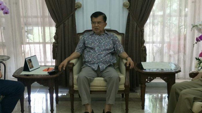 Lebaran Bersama Jokowi di Istana, Jusuf Kalla Tak Gelar Halal Bihalal