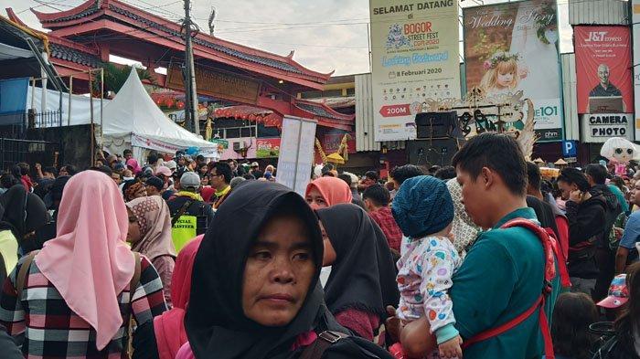 Ingin Lihat Bogor Street Festival CGM 2020, Warga Bersitegang dengan Petugas Dekat Dhanagun