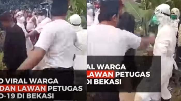Warga Paksa Petugas Lepas Baju APD, Videonya Viral di Media Sosial