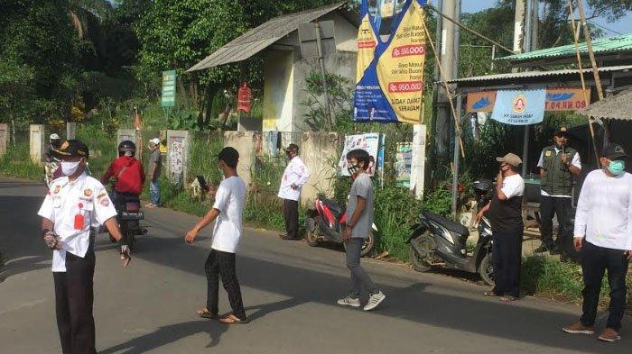 Cegah Penyebaran Covid-19, Warga yang Masuk Bojonggede Bogor Wajib Bermasker