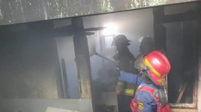 Diduga Gas Bocor, Warung Nasi di Kawasan Puncak Bogor Terbakar, 4 Orang Dilarikan ke Rumah Sakit