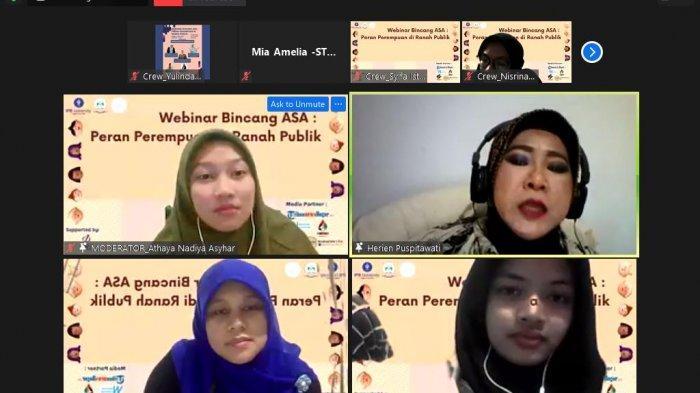 Hadirkan 3 Narasumber, Mahasiswa IPB Adakan Webinar Bertajuk Peran Perempuan di Ranah Publik