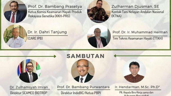 IndoBIC dan Seameo Biotrop Berikan Pengetahuan Manfaat Adopsi Tanaman Biotek