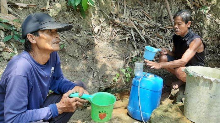 Wilayah Jonggol, Kabupaten Bogor kekeringan.