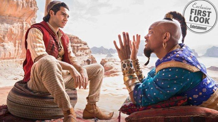 Sudah Tayang di Bioskop ! Live Action Film Aladdin - Kisah Pemuda Miskin Temukan Lampu Ajaib