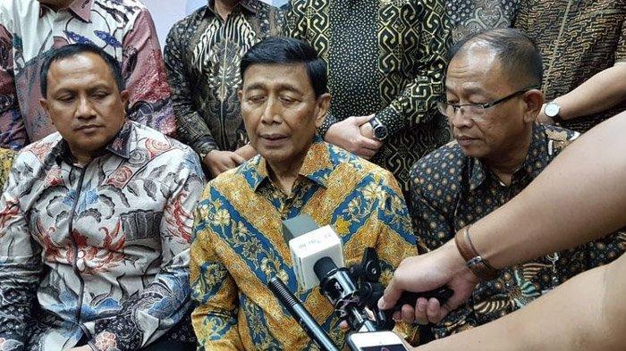 Ikut Silaturahmi dengan Pegawai Kemenko Polhukam, Wiranto: Saya Membolos dari Rumah Sakit