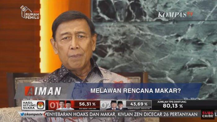 Wiranto Minta Habib Rizieq Shihab Berhenti Menghasut Masyarakat : Kembali ke Jalan yang Benar !