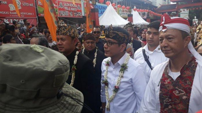 Hadir di Bogor Street Festival CGM 2020, Wishnutama : Kota Bogor Betul-betul Menghargai Perbedaan