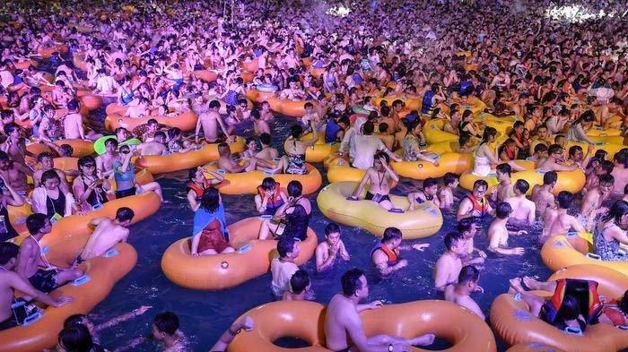 Pesta Besar-besaran di Wuhan Dikritik Seluruh Dunia, China Beri Pembelaan Begini