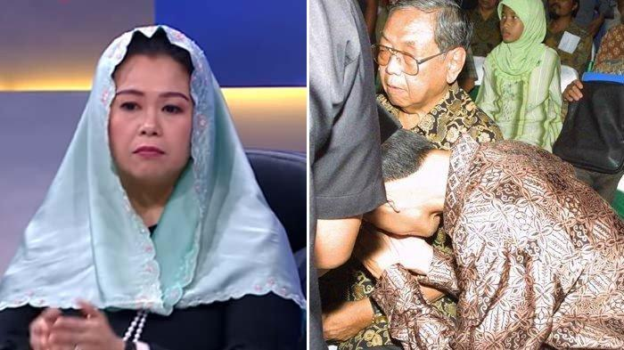 Yenny Wahid & Inaya Wahid Tanggapi Potret Saat Jokowi Cium Tangan Gus Dur : Bikin Kita Semua Terharu