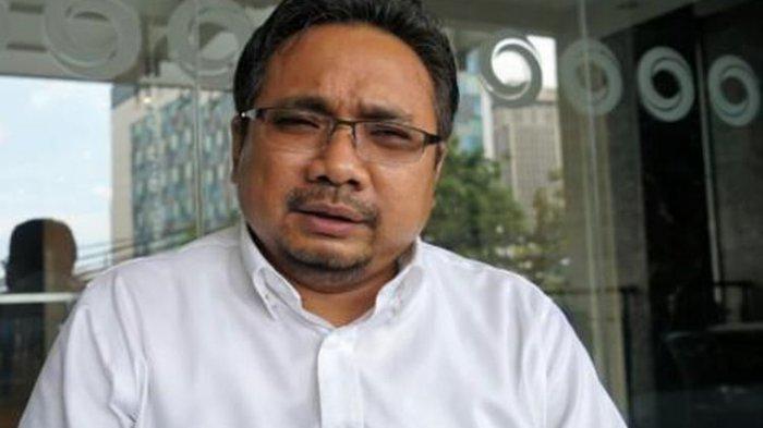 Ketua Umum Pimpinan Pusat Gerakan Pemuda Ansor, Yaqut Cholil Qoumas saat ditemui di bilangan Wahid Hasyim, Jakarta Pusat, Selasa (24/1/2017).(KOMPAS.COM/KRISTIANTO ERDIANTO)