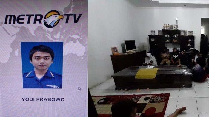 Ditemukan Tewas, Editor Metro TV Sempat Lakukan Hal Aneh di Rumah, Firasat Adik buat Ibu Tak Percaya
