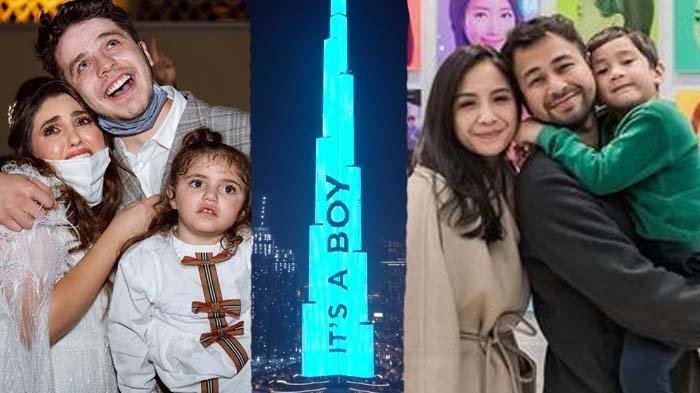 Demi Umumkan Jenis Kelamin Bayi, Youtuber Ini Sewa Burj Khalifa Rp 1,4 M : Rafathar Pun Tersaingi