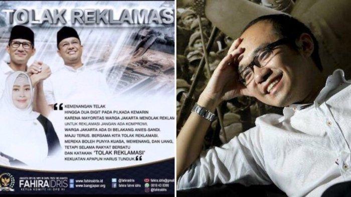 Anies Beri Izin Reklamasi untuk Ancol, Yunarto Wijaya Sindir Pernyataan Fahira Idris Saat Pilkada