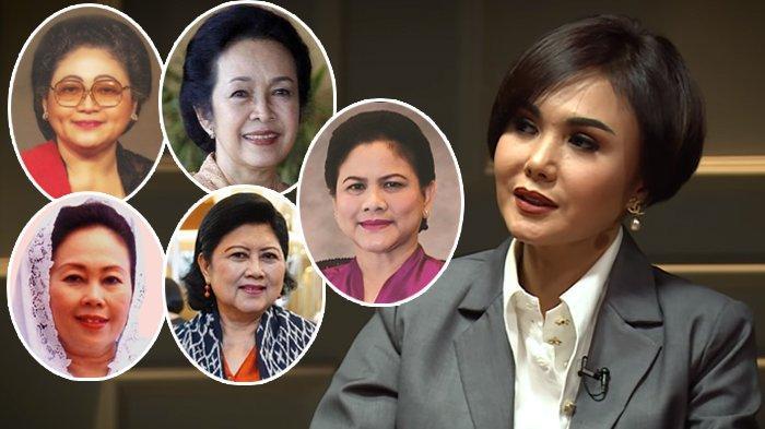 Ungkap Sosok 5 Ibu Negara, Yuni Shara Kenang Beda Suasana Istana Presiden : Zaman Pak Harto Angker